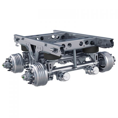 Suspension Front and Rear axle
